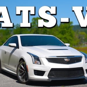 2016 Cadillac ATS-V Coupe 6MT: Regular Car Reviews