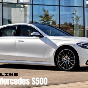 2021 Mercedes S500 4MATIC S Class in Designo Diamond White