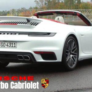 2021 Porsche 911 992 Turbo Cabriolet in Carrara White