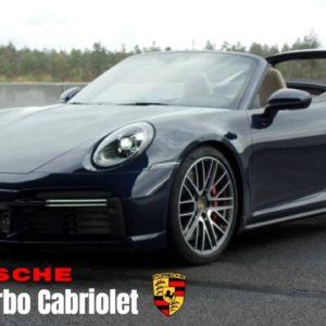 2021 Porsche 911 992 Turbo Cabriolet in Night Blue