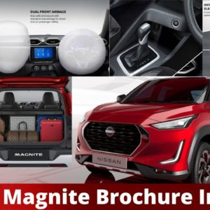 Nissan Magnite SUV Top Model Price? JBL Speakers, Ambient Light, 360 Camera, Hill Start, Cabin Space