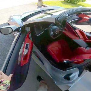 Driving a Corvette C8 for the First Time
