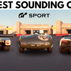 GT Sport - Top 10 BEST SOUNDING Cars (With Startup Sounds)