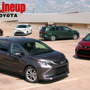 New 2021 Toyota Sienna Hybrid Lineup