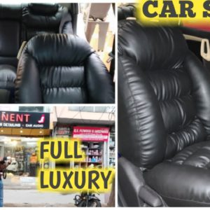 Ultra Comfort Seat Covers, Eminent Car Detailing,Luxury Seats With All Customization Options.