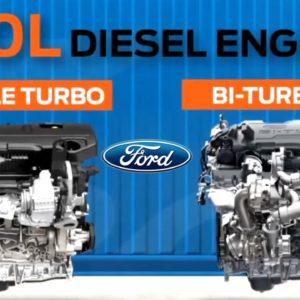 2.0 Liter Diesel Engine For 2021 Ford Ranger Raptor