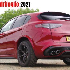 2021 Alfa Romeo Stelvio Quadrifoglio Design and interior UK Spec