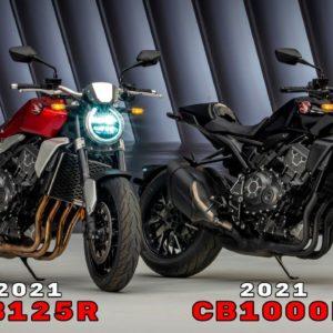 2021 Honda CB125R and CB1000R Reveal