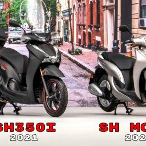 2021 Honda SH350i and SH Mode Reveal