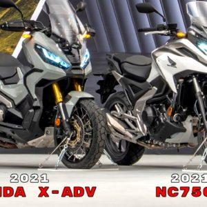 2021 Honda X ADV and NC750X Reveal