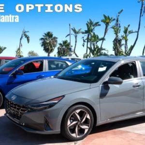 2021 Hyundai Elantra Engine Options