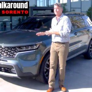 2021 Kia Sorento SUV Detailed Walkaround and Features