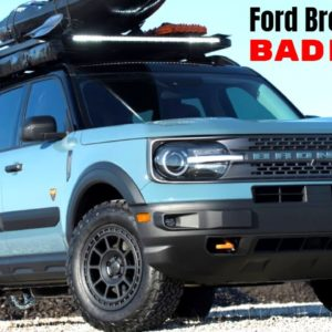 2021 MAD Ford Bronco Sport Badlands SEMA Build