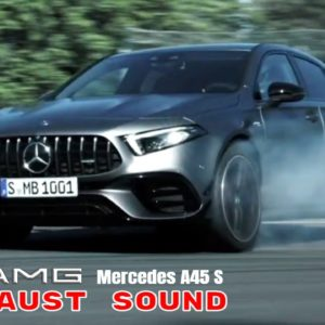 2021 Mercedes AMG A45 S 4MATIC+ Engine and Exhaust Sound
