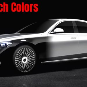 2021 Mercedes Maybach S Class Two Tone and Colors