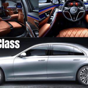2021 Mercedes S500 4MATIC s-Class in High Tech Silver