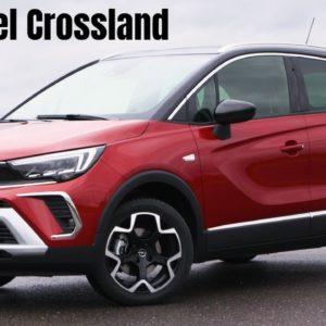2021 Opel Crossland in Chilli Red