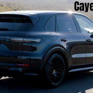 2021 Porsche Cayenne GTS in Moonlight Blue Looks Elegant