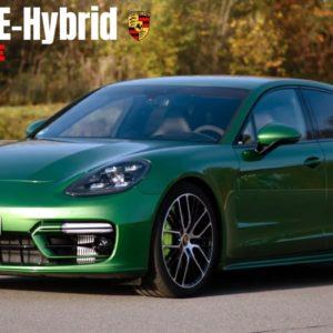 2021 Porsche Panamera Turbo S E-Hybrid in Mamba Green