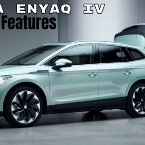 2021 Skoda Enyaq iV Interior Features and Options