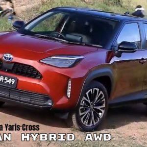 2021 Toyota Yaris Cross Urban Hybrid AWD with Black Roof