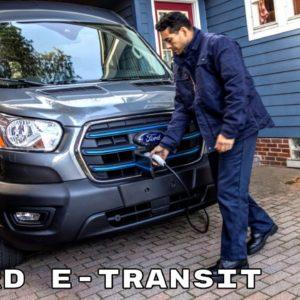 2022 Ford E-Transit Electric Van