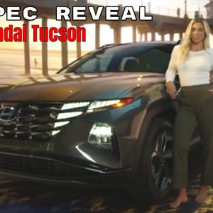 2022 Hyundai Tucson SUV US Spec Reveal