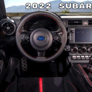 2022 Subaru BRZ Interior Cabin