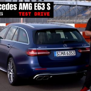 2021 Mercedes AMG E63 S Wagon T Model Estate wagon Review and Test Drive
