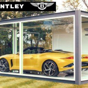 Bentley Returns To Live Driving Events