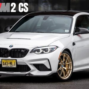 BMW M2 CS in White