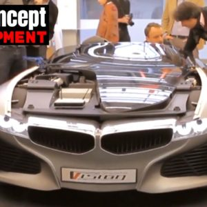 Building The Amazing BMW Vision ConnectedDrive Concept Car