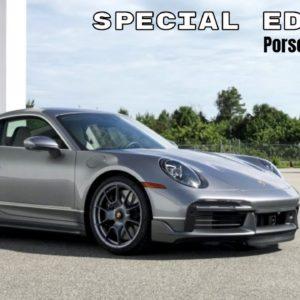 Special Edition Porsche 911 Turbo S and Embraer Phenom 300E Business Jet