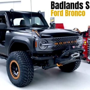 Ford Bronco Badlands Sasquatch 2 Door