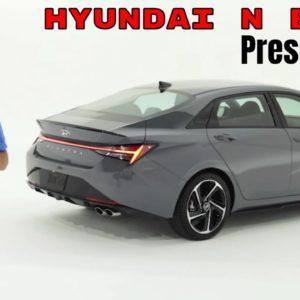 Hyundai N Brand Presentation Featuring 2021 Elantra N