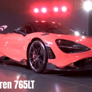 McLaren 765LT in Dubai