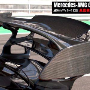 Mercedes AMG GT Black Series Aerodynamics Explained
