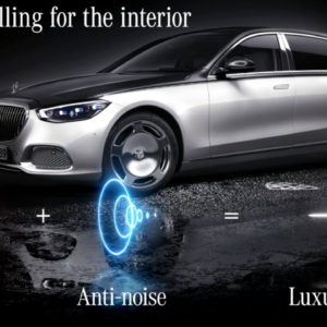 Mercedes Maybach S Class Active Road Noise Compensation