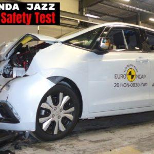 New 2020 Honda Jazz Crash and Safety Test