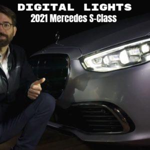 New 2021 Mercedes S Class Digital Lights