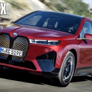 New BMW iX EV Electric SUV
