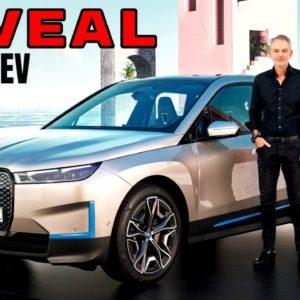 New BMW iX EV Electric SUV Reveal