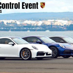 Porsche 911 Turbo S Launch Control Event