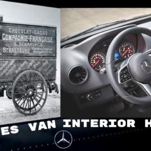 The History of Interiors of Mercedes Benz Sprinter Transporter Vans