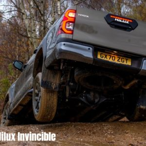 Toyota Hilux Invincible X UK Spec Off Roading and Detailed Look