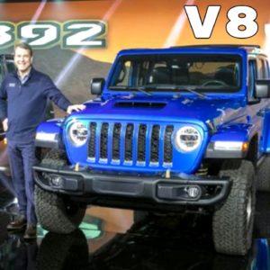 V8 Engine Jeep Wrangler Rubicon 392 Highlights