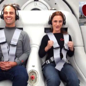 Virgin Hyperloop First Passenger Testing