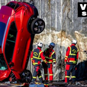 Volvo Drops New Cars From 30 Metres For Extreme Crash Test