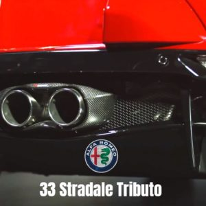 2021 4C Spider 33 Stradale Tributo inspired by the 1967 Alfa Romeo