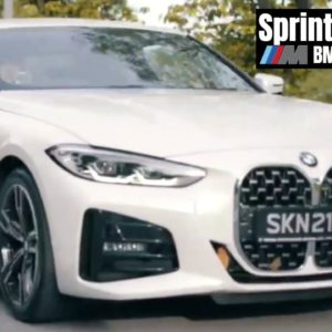 2021 BMW 4-Series 420i 430i Sprint Function and Engines